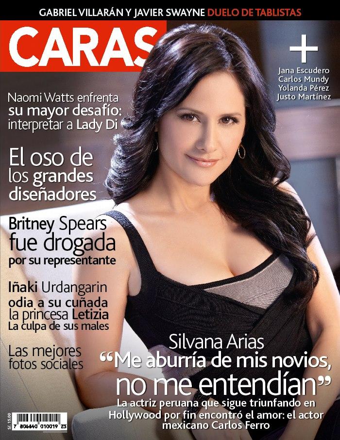 Nueva Portada De La Revista Caras Silvana Arias
