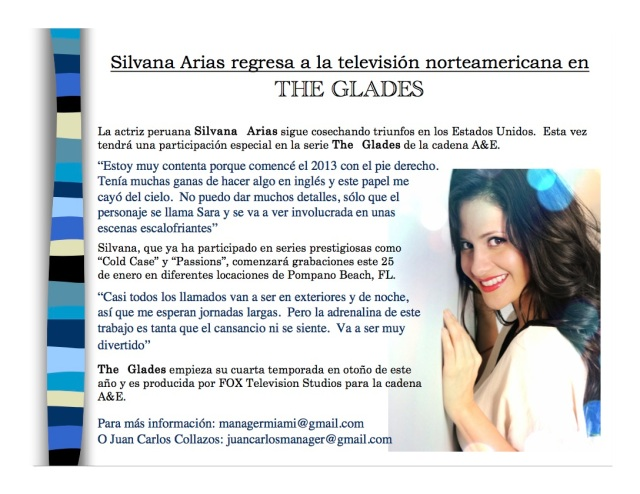 Silvana Arias-The Glades