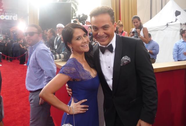 Silvana y Cristian Castro