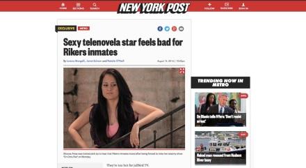 Silvana Arias New York Post