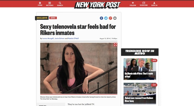 Silvana Arias New York Post
